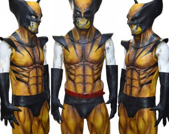 Wolverine mask etsy berserker latex muscle suit solutioingenieria Image collections