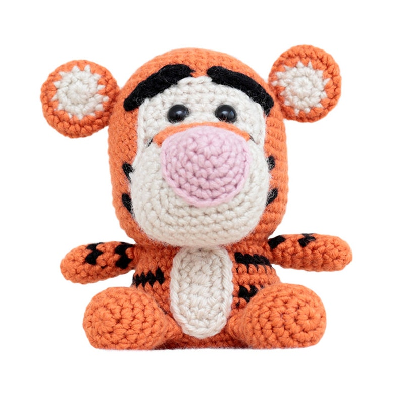 Fat Face Tiger Amigurumi Pattern image 0
