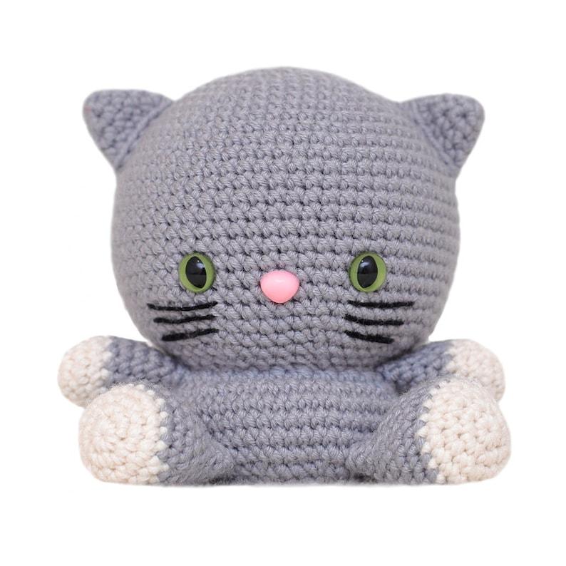 Fat Face Cat Amigurumi Pattern image 0