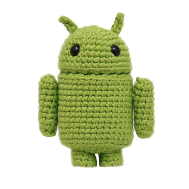Andy the Android Amigurumi Pattern image 0
