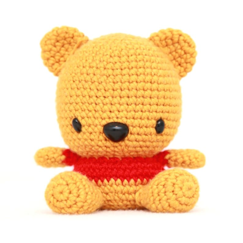 Fat Face Bear Amigurumi Pattern image 0