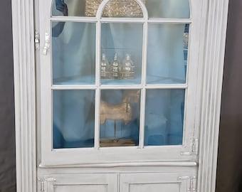 Antique Curio Cabinet | Etsy