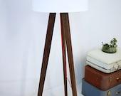 Mid Century Modern Floor Lamp, Tripod Floor Lamp
