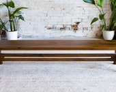 """Mid century Modern Bench""""The Continental"""