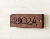Modern House Numbers, Address Sign, Minimalist House Sign
