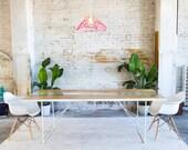 "Live Edge Table, Natural Edge Table, Modern Dining Table, River Table "" The Yoshi Dining Table"""