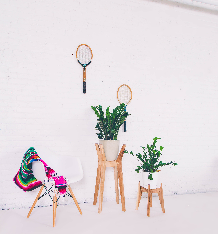 Modern Plant Stand Large Midcentury Planter Mid Century Planter Living Room Decor Boho Modern Bohemian Decor Plant Pot Housewarming Gift