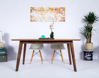 "Mid Century Modern Dining Table, Kitchen Table, Small Dining Table ""The Bossa Nova"""