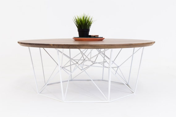 Marvelous Coffee Table Round Coffee Table Mid Century Modern Geometric Walnut Round Coffee Table The Mila Yoshi Andrewgaddart Wooden Chair Designs For Living Room Andrewgaddartcom