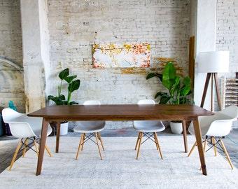 mid century modern dining table. Walnut Dining Table, Modern Midcentury Mid- Century, Mid Century Table