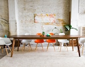 """Large Dining Table, Solid Top """"The Santa Monica Large"""""""