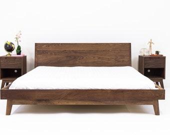 "Queen Bed Frame, Platform Bed ""The Bosco"""