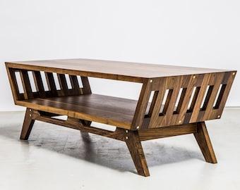 "Modern Walnut Coffee Table ,""The April"""