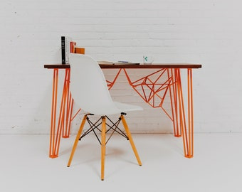 "Modern Computer Desk, Reception Desk, Home Office Desk, ""The Yoshi Desk"""
