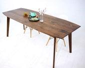 "Mid Century Modern Dining Table ""The Santa Barbara"""