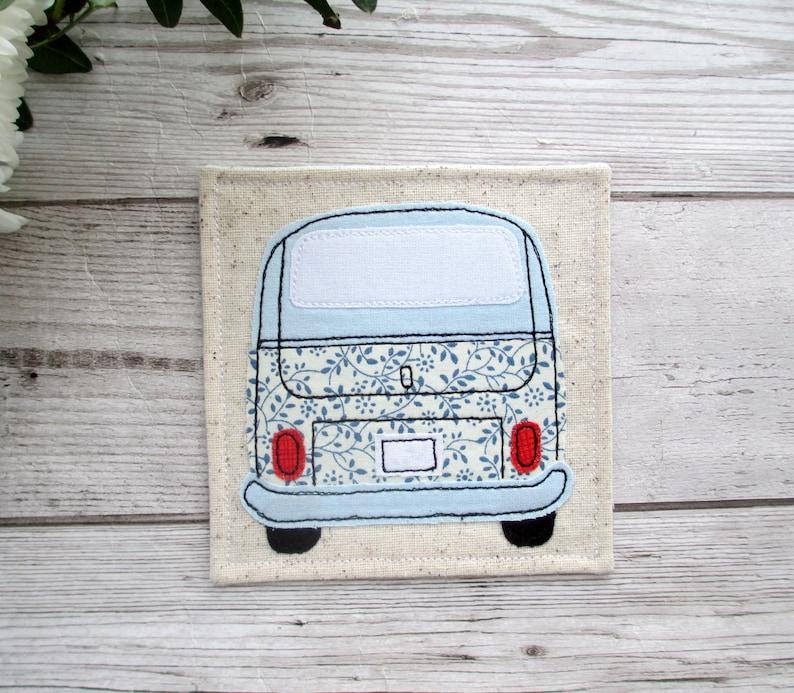 Camper Van Coaster, VW Bus Gift, Wanderlust Gift