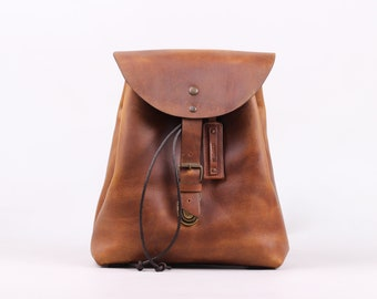 Charlotte Mini Backpack (Honey)