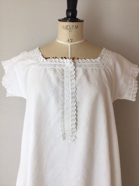 Victorian Chemise, Size S/M, Victorian Nightgown,… - image 3