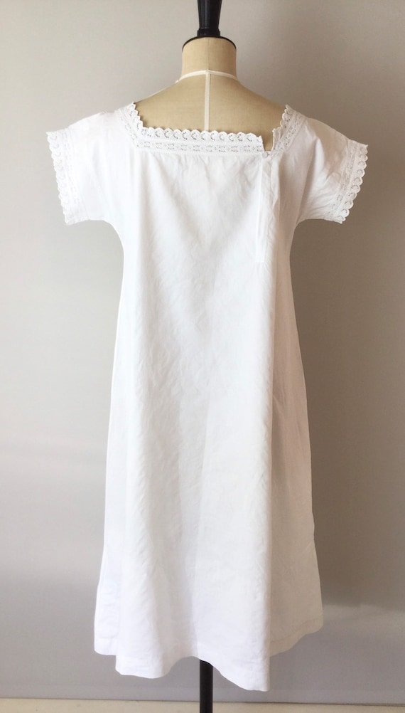 Victorian Chemise, Size S/M, Victorian Nightgown,… - image 4