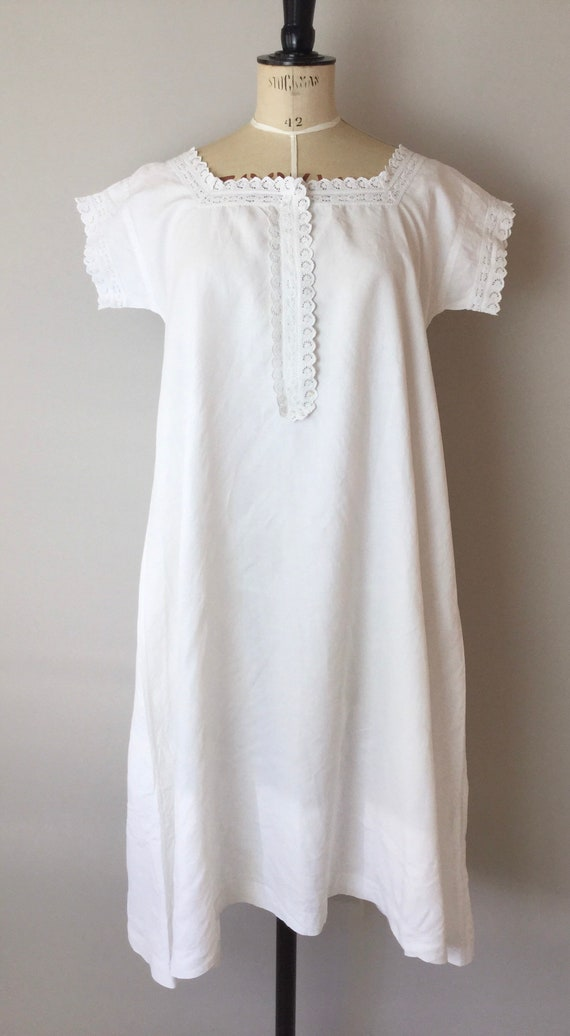 Victorian Chemise, Size S/M, Victorian Nightgown,… - image 2