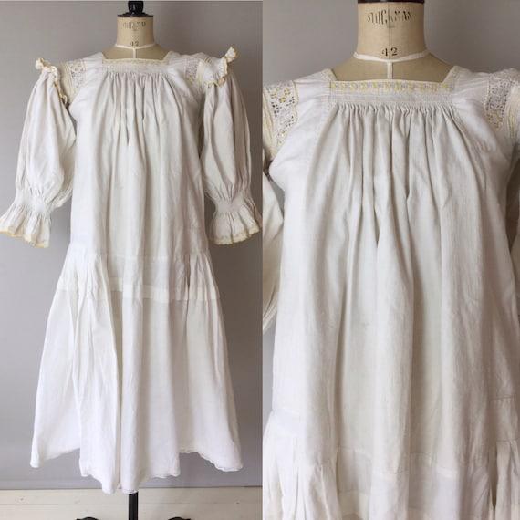 Antique Hungarian Folk Dress, Size S, Antique Folk