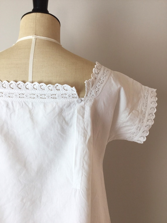 Victorian Chemise, Size S/M, Victorian Nightgown,… - image 5
