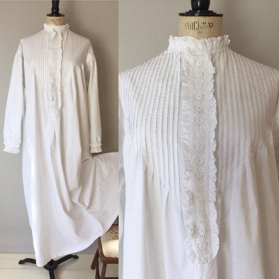 Victorian Nightgown, Size S/M/L/XL, Victorian Nigh