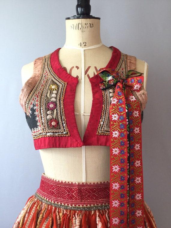 Kyjov Folk Costume, Vintage Kyjov Vest, Vintage Cz