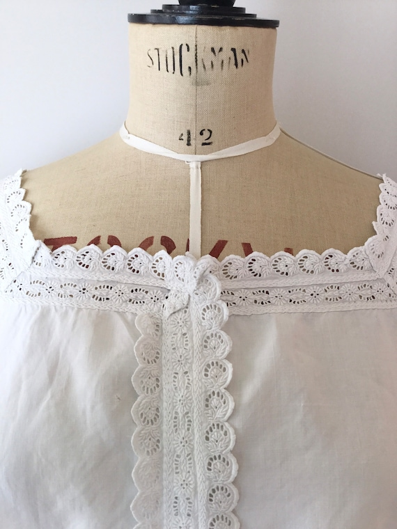 Victorian Chemise, Size S/M, Victorian Nightgown,… - image 10