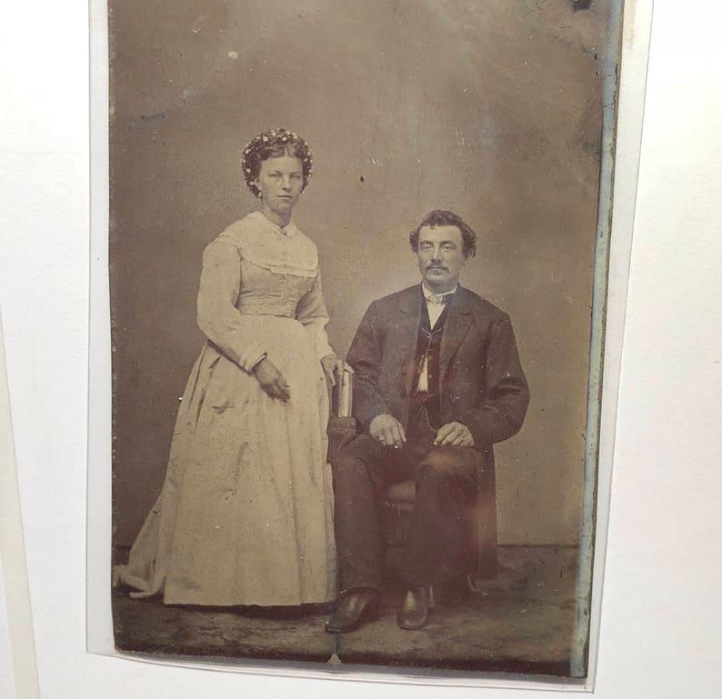 Ein Ehepaar datiert