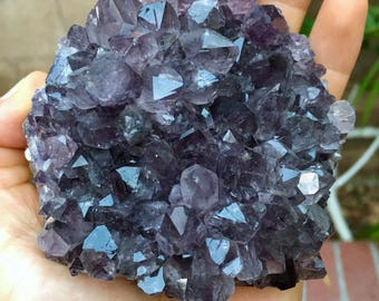 Top Quality 398g Large Amethyst Crystal Specimen - Minas Gerais, Brazil - Item:AM170821