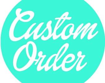 Custom T-Shirt Order for Jennie