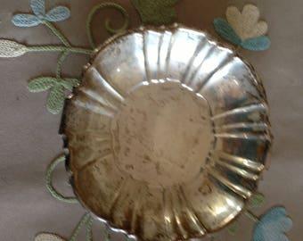 Bon Bon Dish - Silver Plate
