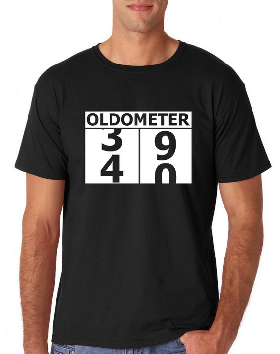 7f46eeac Birthday Shirt 40 Years Old Shirt Old Shirt Oldometer 40th | Etsy