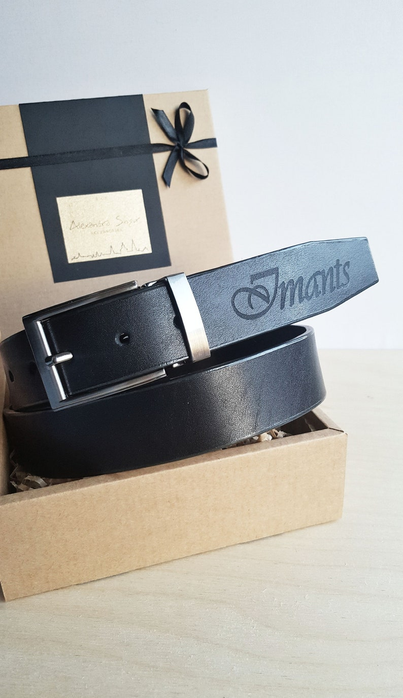 Personalized leather belt for men-Personalized gift-Mens leather belt-Custom leather belt-Leather belt-gift fo him-Black belt-Monogram gift