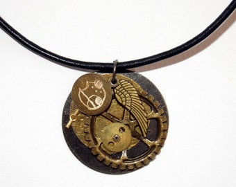 Clockwork Angel Necklace