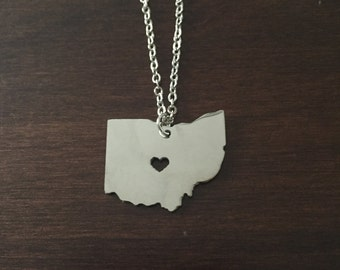 Ohio necklace state necklace state jewelry ohio state ohio necklace ohio silver ohio necklace ohio state necklace ohio jewelry aloadofball Gallery