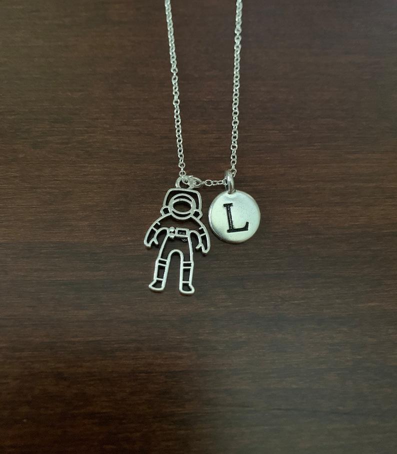 astronaut girl space gifts astronaut gifts space necklace astronaut necklace space astronaut jewelry astronaut pendant astronaut