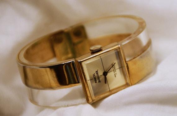 Marcel Boucher VINTAGE  Clasp/ bracelet watch.  19