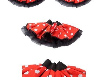 20d862b070373 Mini Mouse Tutu Skirt Fancy Dress Fun Run Hen Party Ladies Girls Children
