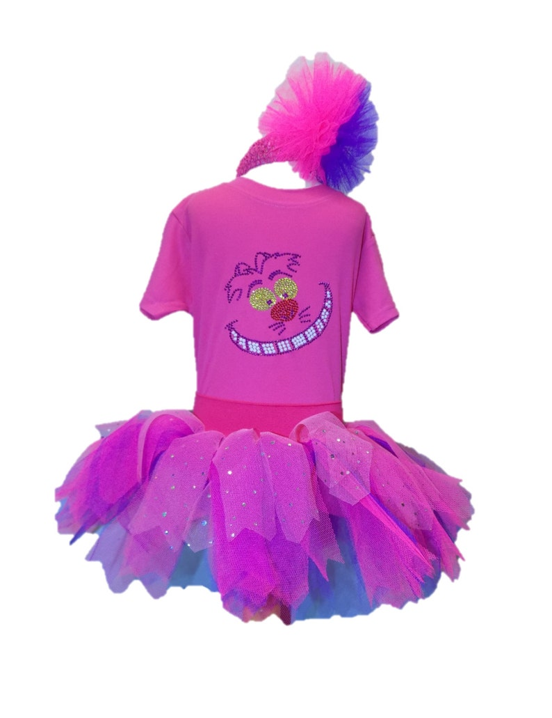 a88825dab Cheshire Cat Fancy Dress Party Costume Tutu Set Baby Kids