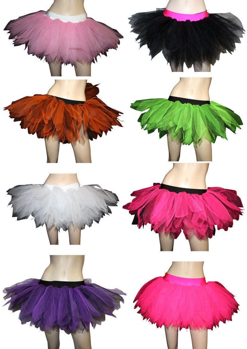 bc104840a Neon Pink White Petticoat Fancy Dress Tutu Skirt All Sizes   Etsy