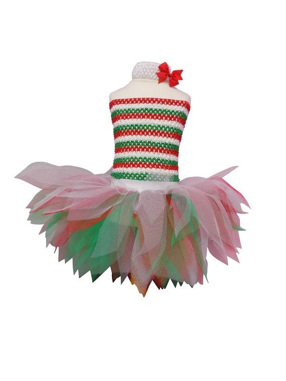 Tutu Skirt St Davids Day Welsh Dragon Green Red White Fancy Dress Hen Party
