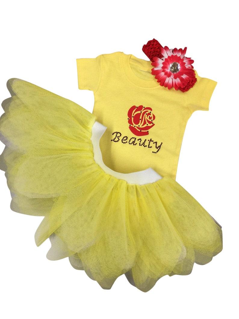 Baby Beauty Princess Tutu and Baby-grow Set Headband Fancy Dress Fairytale Princess
