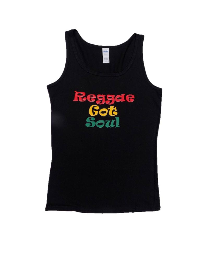 Reggae Got Soul Vest Top T Shirt Summer Festival Music Soul Motown