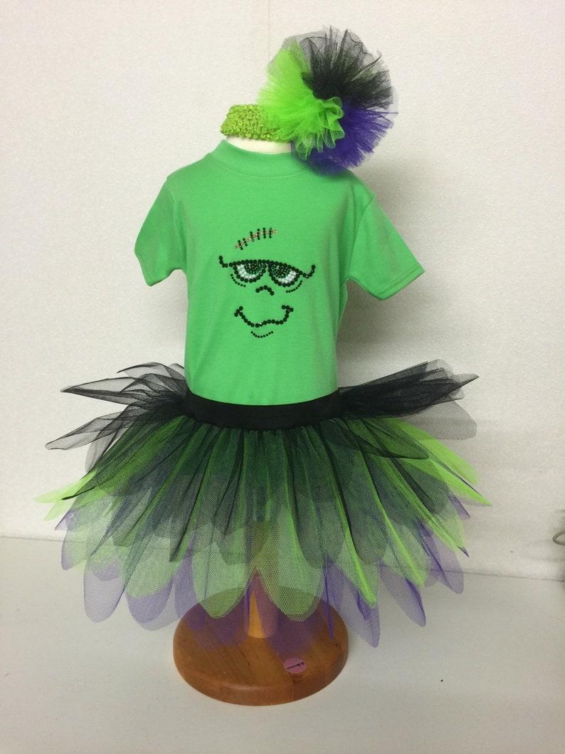 a024b9edd Frankenstein Halloween 80s Fancy Dress Party Costume Tutu Set