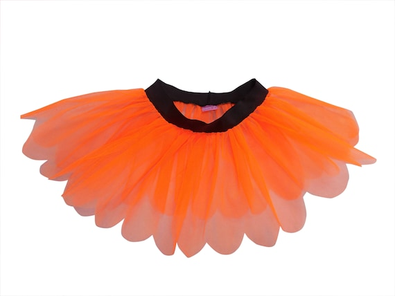 New Neon Yellow Pink frilly skater Skirt Dance Hen Party All sizes Gift Punk