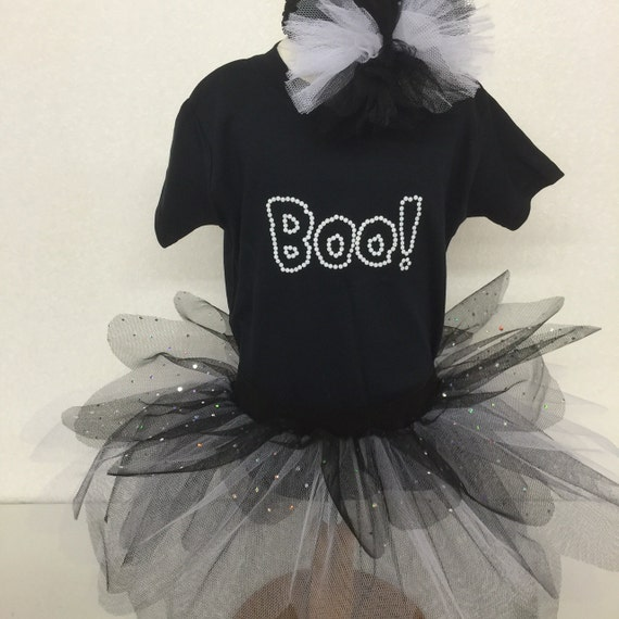 bf5ab039f Boo Spooky Halloween 80s Fancy Dress Party Costume Tutu Set
