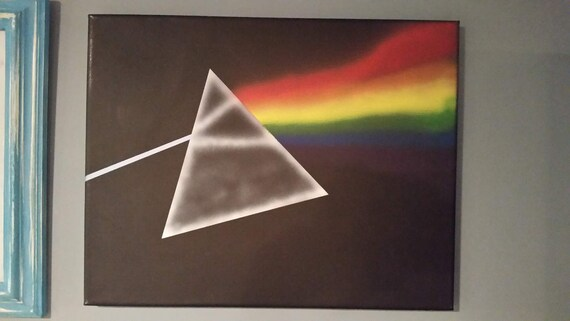 Pyramid International Pink Floyd Dark Side Of The Moon Canvas Print Cotton,