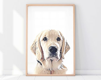 Custom Dog Print Etsy
